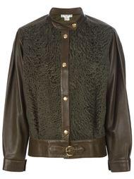 пиджак с замшевой вставкой Céline Vintage