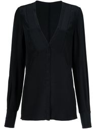 блузка с V-образным вырезом Jason Wu