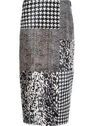 юбка миди с контрастными панелями Jason Wu
