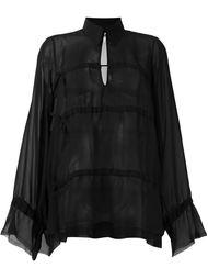 прозрачная блузка Mm6 Maison Margiela