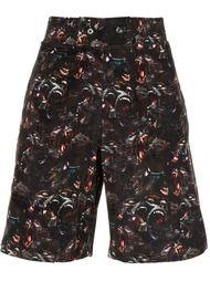 шорты с принтом бабуинов Givenchy
