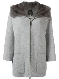 пальто на молнии  Agnona