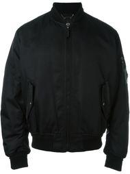 куртка-бомбер с логотипом  Versace