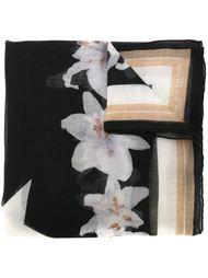 шарф с принтом лилий Givenchy