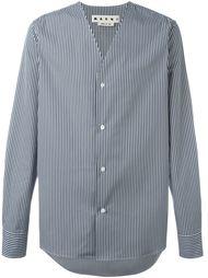 рубашка c V-образным вырезом   Marni
