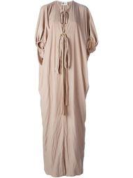 драпированное платье  Lanvin