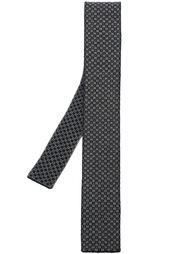 трикотажный галстук с мелким узором Eleventy