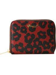 кошелек с леопардовым принтом Muveil