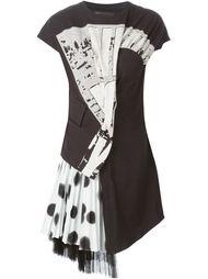 асимметричное многослойное платье  Marc By Marc Jacobs