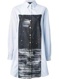 длинная рубашка с принтом Marc By Marc Jacobs