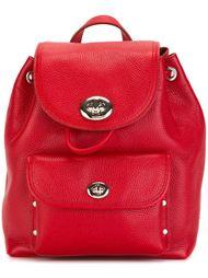 маленький рюкзак с откидным клапаном Coach