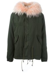 куртка с отделкой из меха енота Mr & Mrs Italy