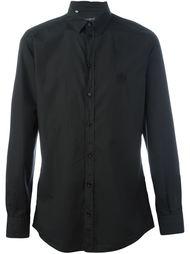 рубашка с вышивкой логотипа  Dolce & Gabbana