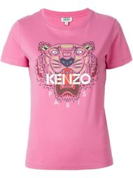 футболка с принтом 'Tiger' Kenzo