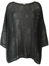 loose fit knitted top M Missoni