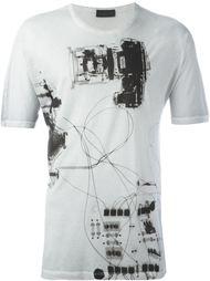 футболка 'Tastersiu X-ray'  Diesel Black Gold