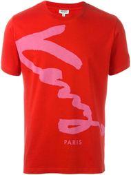 футболка с логотипом  Kenzo