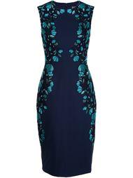 платье с оборками  Lela Rose
