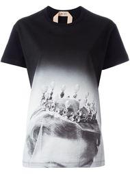 футболка с принтом короны  Nº21