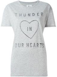 футболка с принтом сердца  Zoe Karssen
