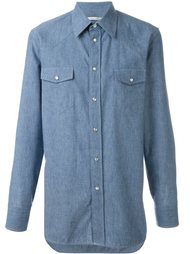 рубашка из шамбре  Marc Jacobs