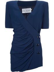 костюм с пиджаком и юбкой Gianfranco Ferre Vintage
