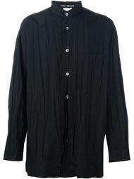 рубашка с мятым эффектом  Issey Miyake Vintage