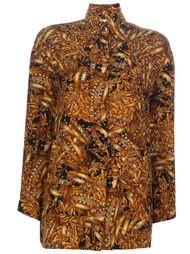 рубашка с рисунком Gianfranco Ferre Vintage