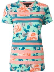 футболка с цветочным принтом Marc By Marc Jacobs