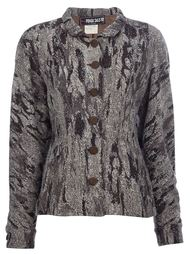 фактурный пиджак Fendi Vintage