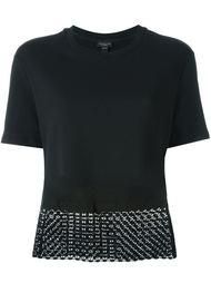 блузка с контрастным подолом  Giambattista Valli