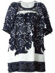расклешенное платье с узором  Chloé