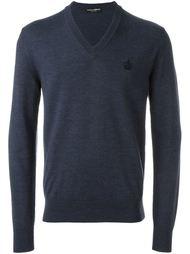 свитер c V-образным вырезом   Dolce & Gabbana