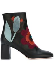 ботинки с аппликацией  Red Valentino