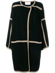 пальто с контрастной окантовкой  Chloé