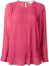плиссированная блузка  Michael Michael Kors