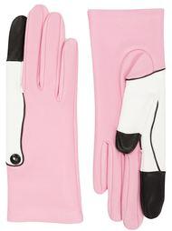кожаные перчатки flamingo  Yazbukey