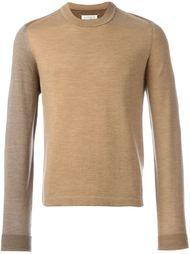свитер колор-блок  Maison Margiela