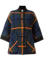 объемное пальто в клетку M Missoni