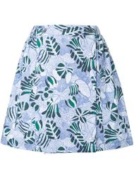 юбка 'Lili' с цветочным принтом  Maison Kitsuné