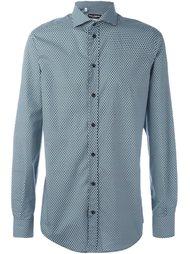рубашка с мелким узором  Dolce & Gabbana