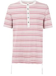 футболка с воротником-хенли Maison Margiela