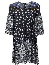 платье с цветочным принтом Suno