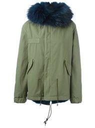 куртка с отделкой из меха енота и койота Mr & Mrs Italy
