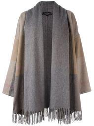 пальто с бахромой Salvatore Ferragamo