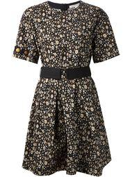 расклешенное платье с цветочным принтом Marc Jacobs