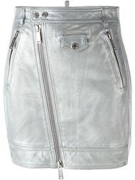 юбка с эффектом металлик  Dsquared2