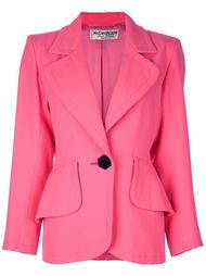 пиджак с крупными карманами Yves Saint Laurent Vintage