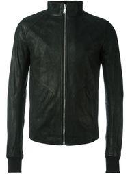 куртка с воротником-стойкой  Rick Owens