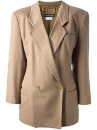 двубортный пиджак Giorgio Armani Vintage